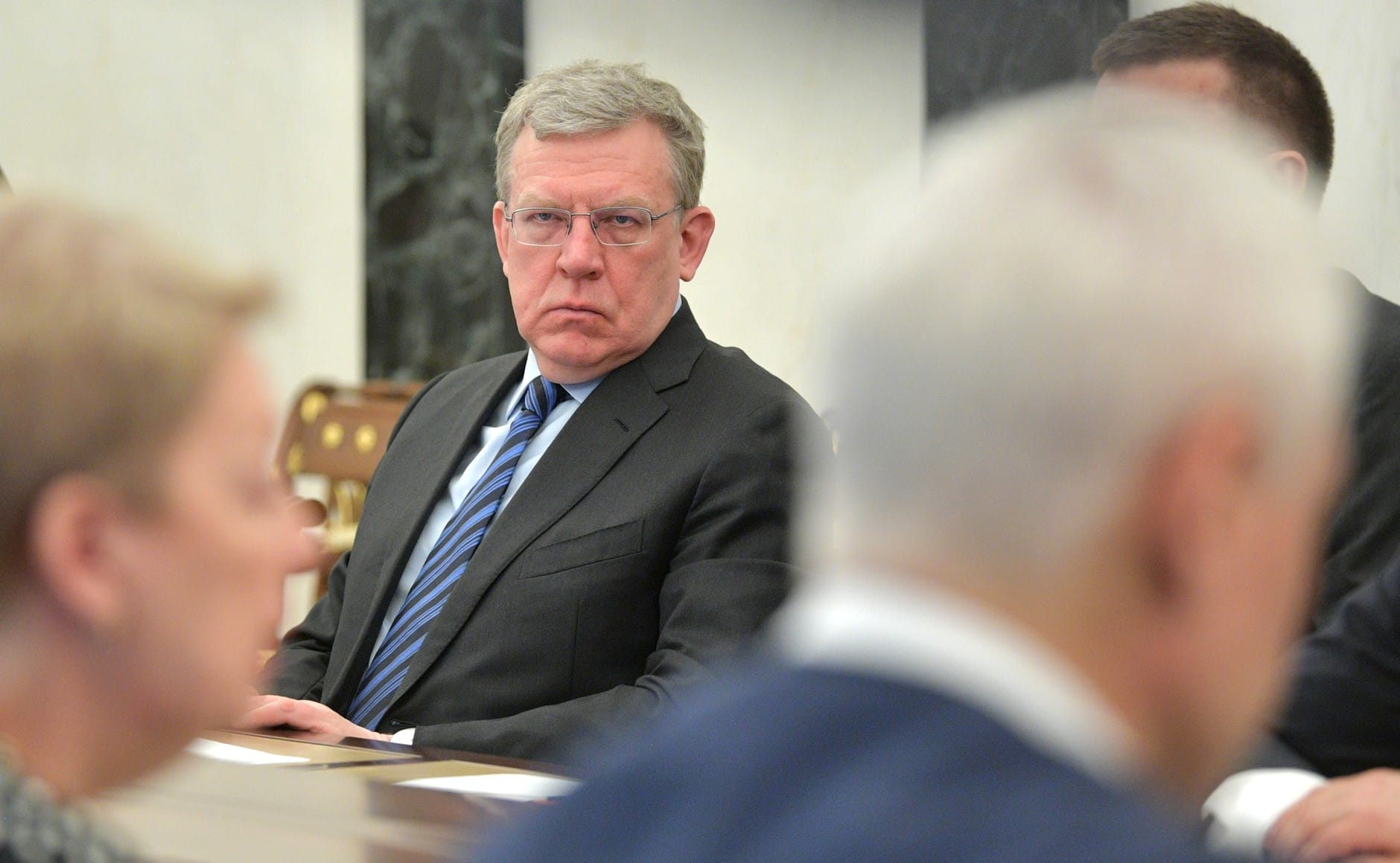 Alexei Kudrin is dismissed from his post