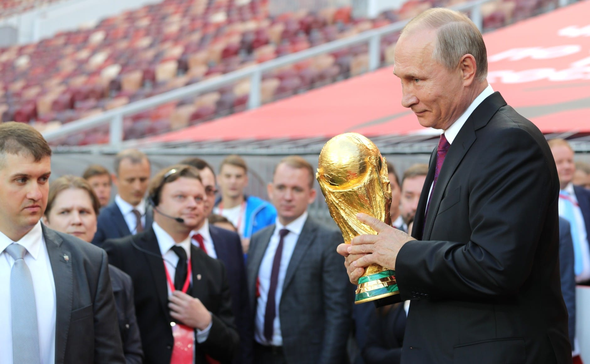 Russia hosts the FIFA World Cup